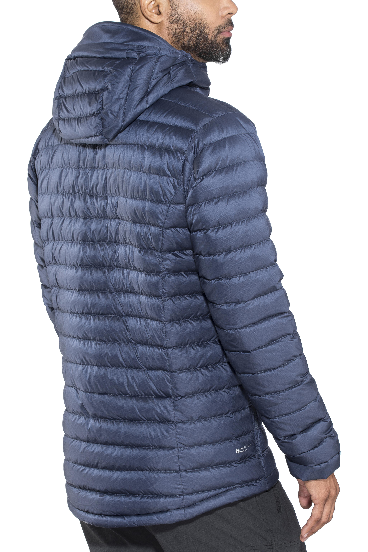 Rab Microlight Alpine Long Jacket Men blue at Addnature.co.uk 8a2cf7a5ec